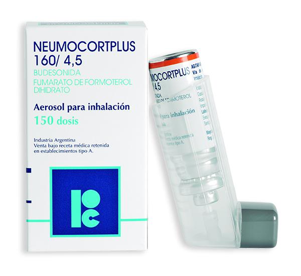 Neumocortplus 160 4 5 X 150 Dosis D M Pharma